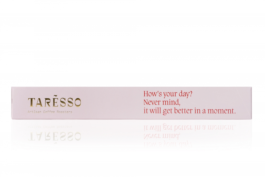 Taresso Nespresso capsules pink